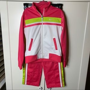 Girl's Nike 2-Piece Track Suit